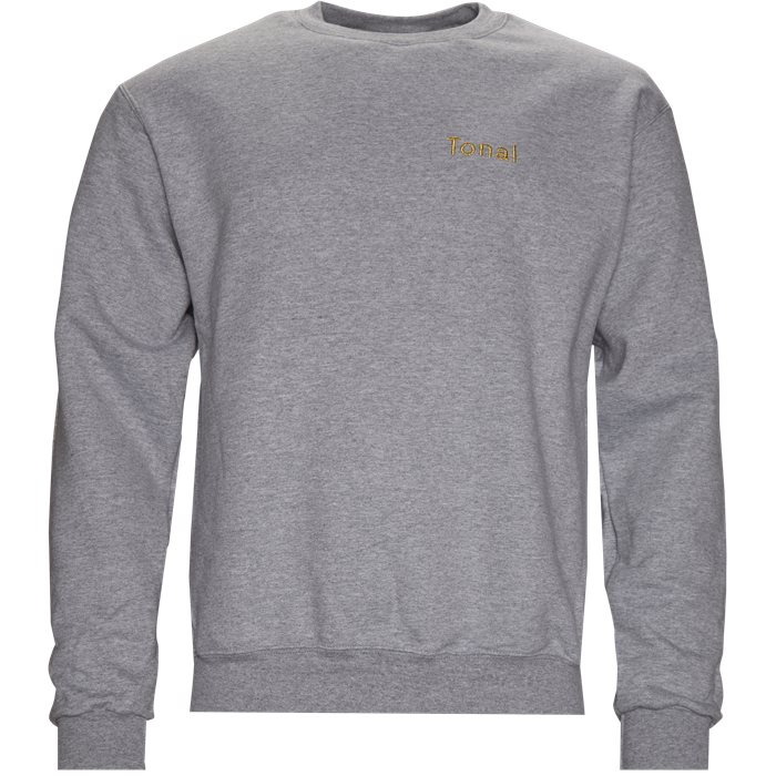 Studio Crewneck  - Sweatshirts - Regular - Grå